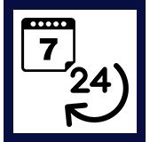 Picto 24h24 et 7j7